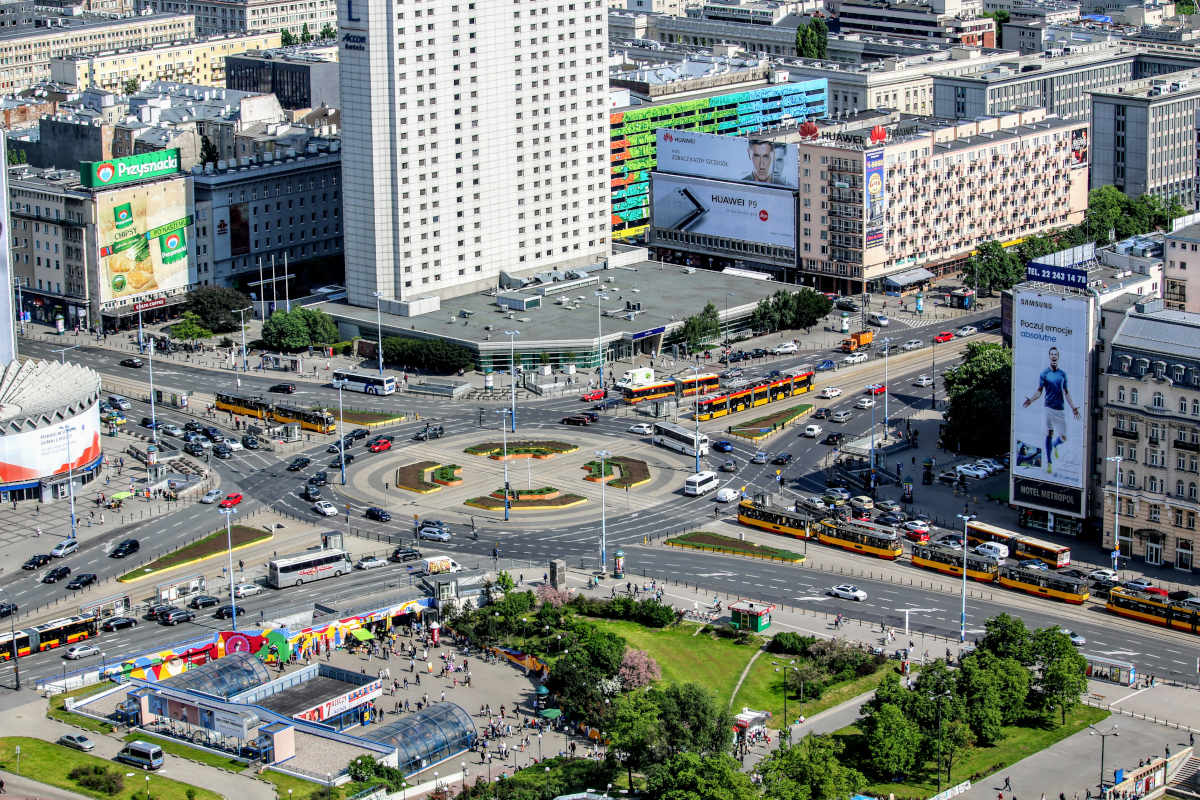Warsaw from the top, Photo by Birgit Pauli-Haack